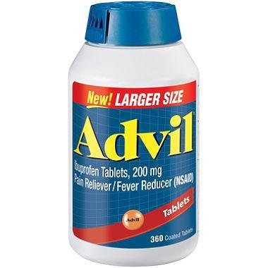 Advil Tablets, 200 mg (360 ct.) - EZneeds
