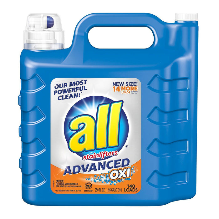 all Advanced Oxi with Stainlifters (250 oz., 140 loads) - EZneeds