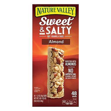 Nature Valley Sweet & Salty Almond Bar (1.2 oz., 48 ct.)