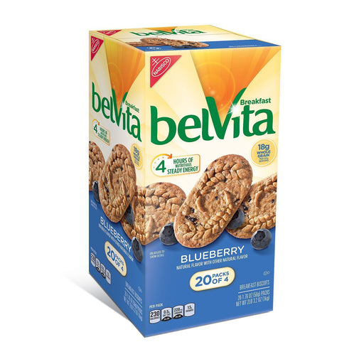 belVita Blueberry Breakfast Biscuits (20 ct.) - EZneeds