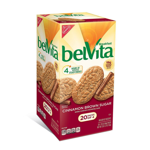 belVita Brown Sugar Cinnamon Biscuits (20 Ct.) - EZneeds