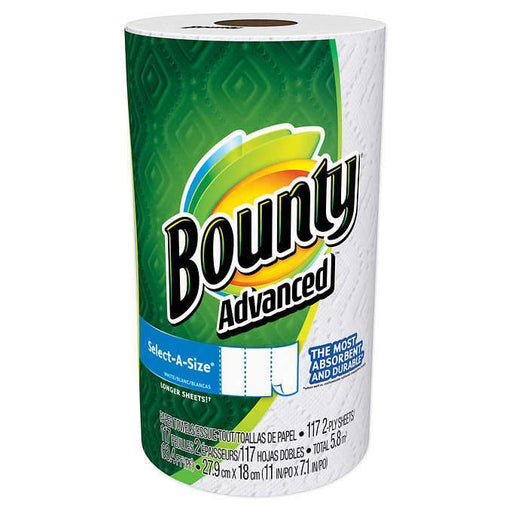 Bounty Advanced Select-A-Size Paper Towels (117 sheets, 1 ct.) - EZneeds