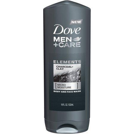 Dove Men+Care Body Wash, Charcoal+Clay (18 fl. oz.) - EZneeds