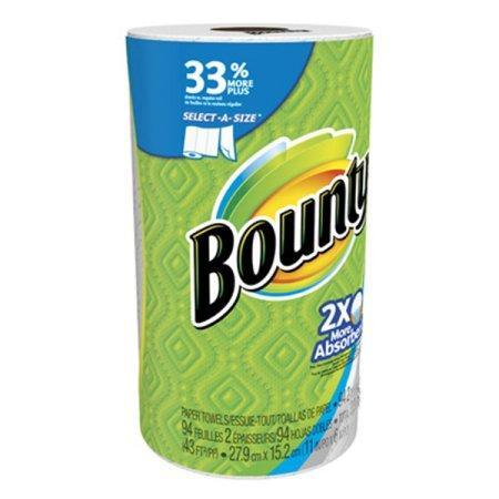 Bounty Select-A-Size Paper Towels, White (1 roll, 131 sheets) - EZneeds