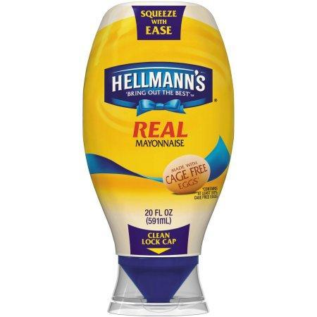 Hellmann's Squeeze Real Mayonnaise (25 oz.)