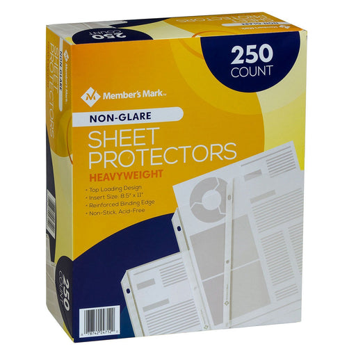 Heavyweight Sheet Protectors, Non-Glare (250 ct.)