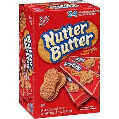 Nabisco Nutter Butter Cookies (1.9 oz., 24 pk.)