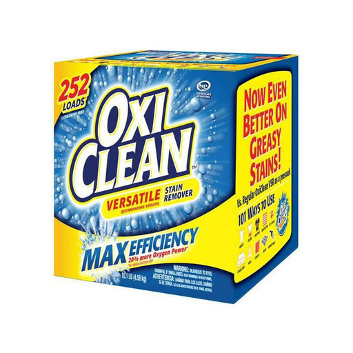 OxiClean Max Efficiency Stain Remover (252 loads, 10.1 lb.)