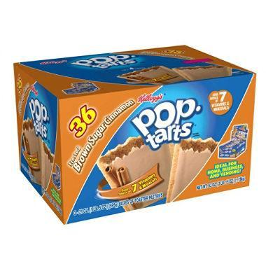 Kellogg's Pop-Tarts, Brown Sugar Cinnamon (36 ct.)