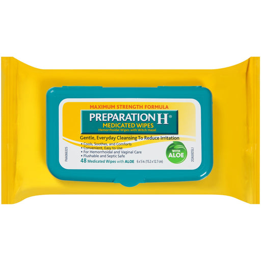Preparation H Medicated Wipes (48 ct.)