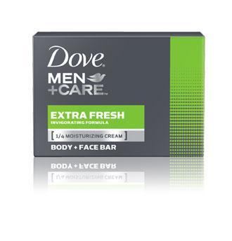 Dove Men+Care Soap Bars, Extra Fresh (4 oz., 1 bar) - EZneeds