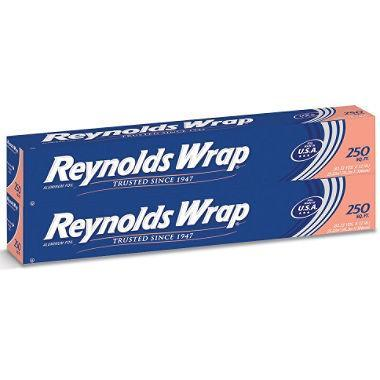 "Reynolds Wrap 12"" Standard Foil (250 sq. ft., 2 ct.)"