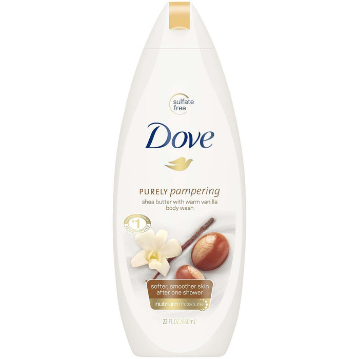 Dove Purely Pampering Nourishing Body Wash, Shea Butter (24 fl. oz.) - EZneeds