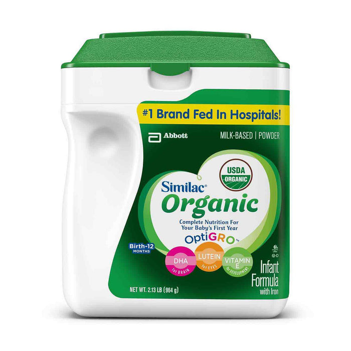Similac Organic Infant Formula (34 oz.)