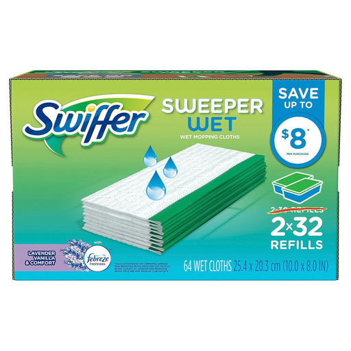 Swiffer Sweeper Wet Refills (64 ct.)