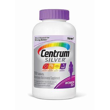 Centrum Silver Women's Multivitamin, 50+ (250 ct.) - EZneeds