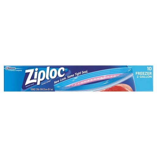 Ziploc Freezer Bags, 2 Gallon (10 ct.)