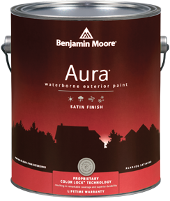 Aura Exterior Paint-Satin (631)