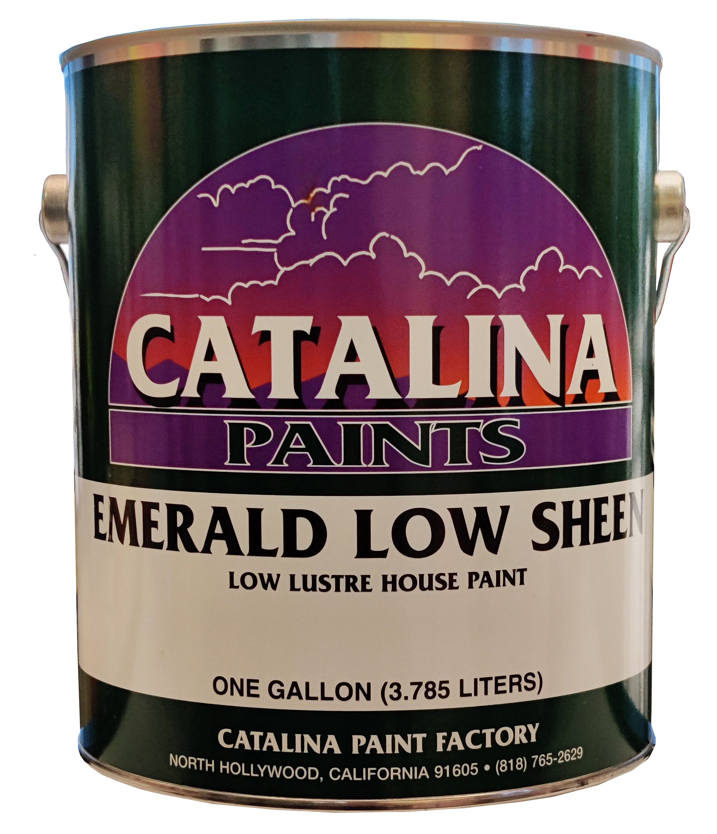 Emerald Low Sheen House Paint 595