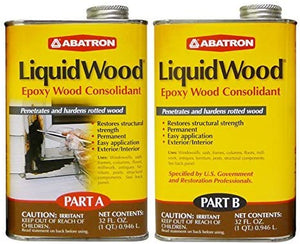 Abatron Liquid Wood-Part A and B-2 Quart kit