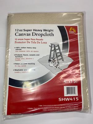 Drop Cloth Canvas Heavy Duty 12oz.