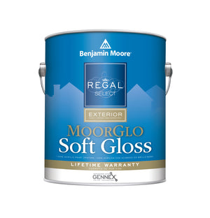 Regal Exterior MoorGlo-Soft Gloss Finish (096)