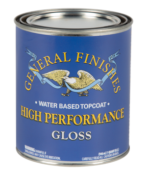 General Finishes High Performance Topcoat-Clear