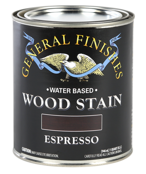 General Finish Water Based Wood Stain-Quart