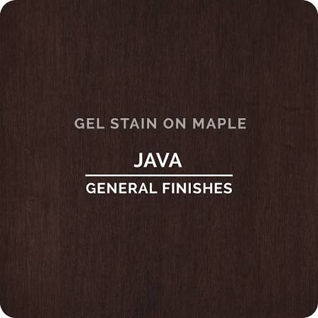 General Finishes Gel Stain Java-Quart