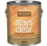 Benwood Stays Clear Acrylic Polyurethane
