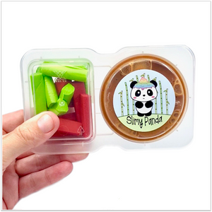 Apple Dippers Slime Snack Pack - Slimy Panda Slime Shop