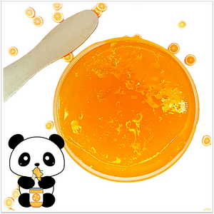 Orange Marmalade Jelly Slime - Slimy Panda Slime Shop