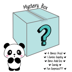 Panda Size Mystery Surprise Box - Slimy Panda Slime Shop