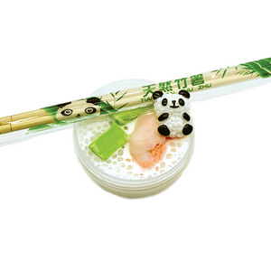Sushi Slime with Chopsticks - Slimy Panda Slime Shop