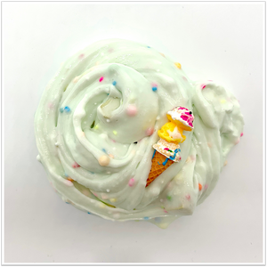 Birthday Cake Ice Cream Butter Slime - Slimy Panda Slime Shop