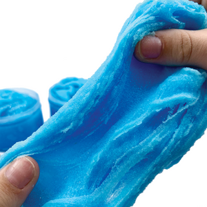 Arctic Blue Raspberry Freeze Slime - Slimy Panda Slime Shop