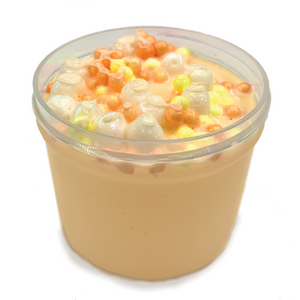 candy corn foam - slimy panda slime shop