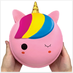 Giant Unicorn Macaron Squishy - Slimy Panda Slime Shop