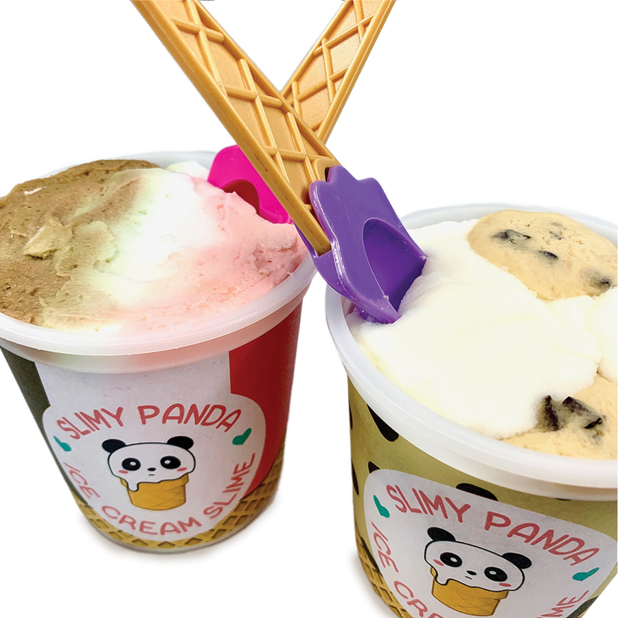 Ice Cream Slime Pints - Slimy Panda Slime Shop