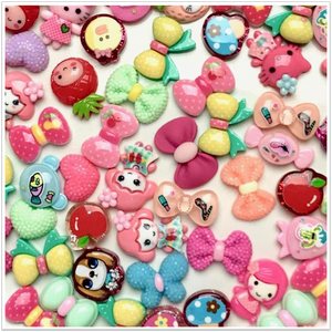 Kawaii Girly Charms Pack - Slimy Panda Slime Shop