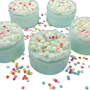 Kawaii Cupcake Crunch Thickie Slime - Slimy Panda Slime Shop