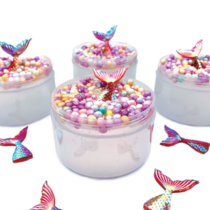 Mermaid Water Clear Slime - Slimy Panda Slime Shop