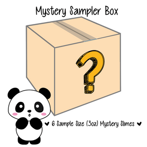 Mystery Box Sampler - Slimy Panda Slime Shop