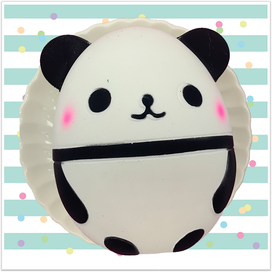 Panda Egg Jumbo Squishy - Slimy Panda Slime Shop