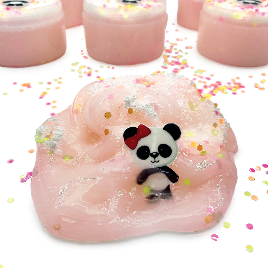 Panda Party Micro Floam Slime - Slimy Panda Slime Shop