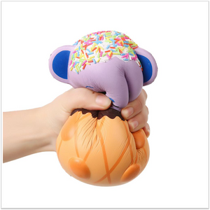 "Ice Cram Panda Jumbo 7"" Squishy - Slimy Panda Slime Shop"
