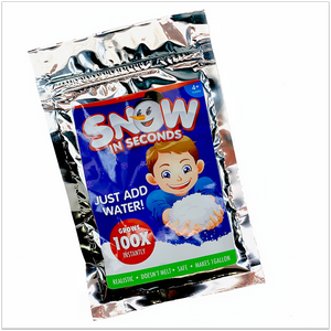 Fake Snow for Slime (Snow in Seconds) - Slimy Panda Slime Shop