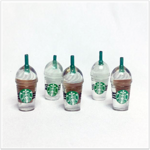 Starbucks Frappuccino Charms - Slimy Panda Slime Shop