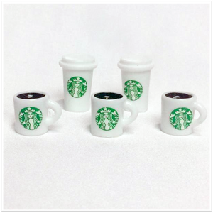 Starbucks Coffee Mug Charms Charms - Slimy Panda Slime Shop