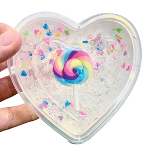 Candy Land Sugar Scrub Slime - Slimy Panda Slime Shop